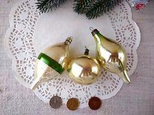 Vintage Soviet Christmas ornament Rare Antique Mercury Glass Big Icicle 40s 159