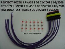 KIT DE REPARATION CONNECTEUR  PEUGEOT BOXER DE 02/2002 à 05/2006 NEUF