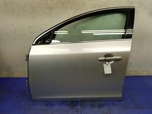 2011 - 2018 VOLVO S60 FRONT LEFT DRIVER DOOR SHELL BRIGHT SILVER *SCRATCHED* SWB