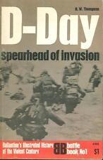 BALLANTINE D-DAY INVASION JUNE 6 1944 WW2 OMAHA AIRBORNE FUNNIES PARA *NM*