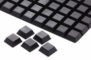 Gummifüße schwarz ca 8 mm x ca 20 mm selbstklebend 8013
