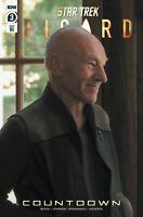 Star Trek Picard #3 1:10 Photo Variant IDW COMICS 2020  CBS