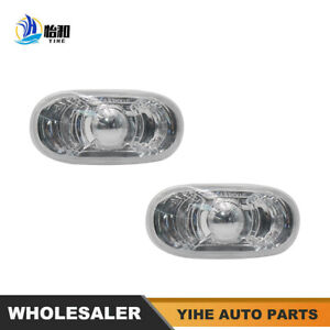 1 Set Clear Side Marker For 08-13 Accord 09-15 Civic 34301-SNW-003