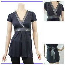 New Look Party Patternless Tops & Shirts for Women