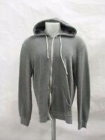 Alternative Rocky Eco Gray 2XL Men Fleece Full Zip Hoodie Sweatshirt