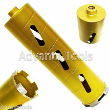 "2"" Dry Diamond Core Drill Bit for Soft Brick Concrete Block 5/8""-11 Threads"