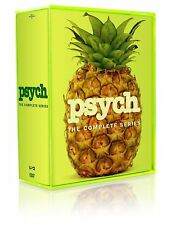 Psych: The Complete Series Season 1 2 3 4 6 7 8 ( DVD, 2014, 31-Disc box Set)