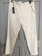 River Island White Pants Size 14 New With Tags