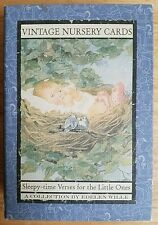 Vintage Nursery Cards - Sleepy-time Verses for the Little Ones by Edelen Wille