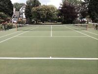 Tennis Court Dorset Somerset Devon Wiltshire Hampshire Jersey Net