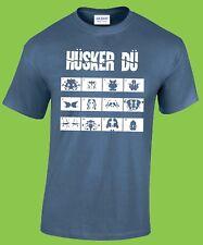 HUSKER DU T-shirt (Minutemen, Wire, Fugazi, Dead Kennedys, Black Flag)