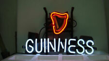 "New Guinness Neon Sign 17""x14"" Light Lamp Real Glass Handmade Decor Display Gift"