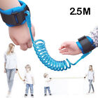 2.5M Safety Leash Anti Lost Baby Kids Wristband Link Rope Toddlers Harness Strap