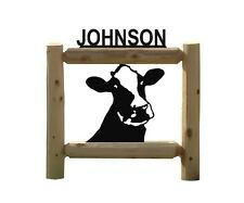 Dairy Cows-Holsteins-Farm & Country Outdoor Signs-Dairy Cows #15151 0000047D