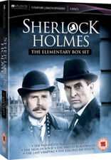 Sherlock Holmes: The Elementary Box Set DVD (2012) Jeremy Brett ***NEW***