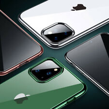 Transparent Soft TPU Silicone Case For iPhone SE 2020 11 Por Max 7 8 6S Plus 5S