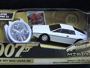 007 Lotus Esprit S1 Spy Who Loved Me Remote Controlled Car - unused in packaging