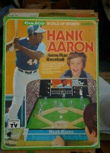 1974 Coleco Hank Aaron Home Run Baseball Tabletop Game