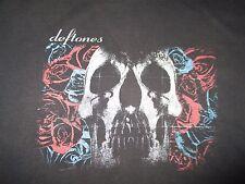 Deftones (Xl) T-Shirt Chino Moreno Stephen Carpenter Abe Cunningham