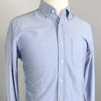SOUTHERN TIDE VINTAGE SHIRT MENS LONG SLEEVE BLUE COTTON BUTTON DOWN SIZE M