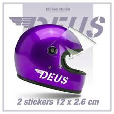 Pegatinas casco moto Deus ex Machina cafe racer tanque custom stickers