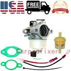 Carburetor W/Gasket Fuel Filter For John Deere STX38 LX255 STX30 AM128816 Engine