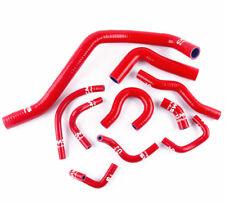 Fit 1988-1991 Honda CRX / Civic EE EF D15 D16 Silicone Radiator Hose Kit Red