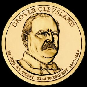 """2012 P Grover Cleveland 1st Term Presidential Dollar """"Uncirculated"""" US Coin BU"""