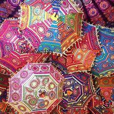 Wholesale Lot Parasol 10 Pcs Indian Umbrella Decorative Wedding Bridal Shower It
