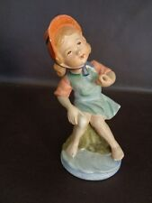 Vintage Wales China Little Girl Figurine Made in Japan (Cat.#10T043)