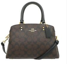 Coach Mini Lillie Carryall Satchel in Signature Canvas 91494