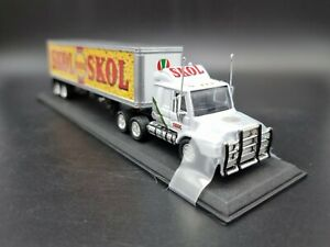 Matchbox Collectibles CCY07-M SKOL Lager Scania Tractor Trailer 1/100 Scale