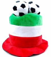 FIFA World Cup 3 Soccer Ball Plush Novelty Top Hat Soccer Cap Hat Italia Italy