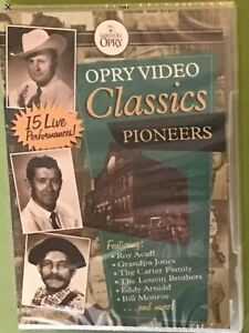 OPRY VIDEO CLASSICS | TIME LIFE | PIONEERS | DVD | NEW