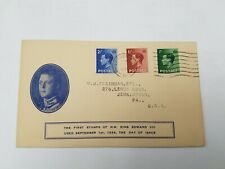Great Britain 1936 King Edward VIII Cacheted FDC