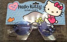 NIP, Kids Hello Kitty Sunglasses, set of 4, multi colors and designs, plastic