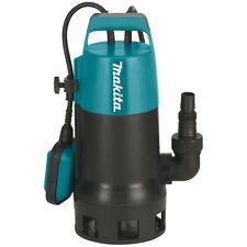 Makita Tauchpumpe PF0410 8.400 l/h für Klar-/Schmutzwasser 400 Watt 3,3 kg Neu