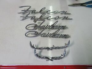 FORD AND MERCURY FENDER AND 1/4 EMBLEMS