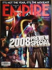 Empire Movie Magazine Issue #224 February 2008 - 2008 Preview Special cover