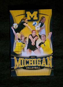 2011 Michigan Wolverines Women Volleyball Schedule