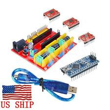 CNC Engraving machine Shield V4 A4988 Drive Board + USB Nano V3.0 for Arduino