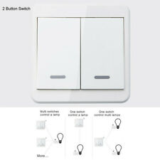 1Piece Wireless Light Switch Remote Control Wall Mounted Smart Home Gadget Diy