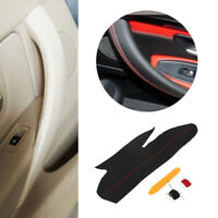 Micro Leather Hand Sewing Inner Door Panel Handle Cover For BMW 3 Series F30 M4