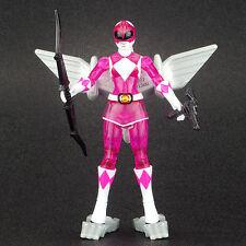 "Power Rangers Dino Fly Translucent PINK RANGER 4"" Action Figure MMPR Bandai 2010"