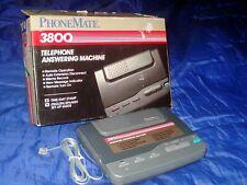 Vintage Phonemate Telephone Answering Machine Works Great