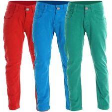 Mädchen-Jeans mit geradem Bein aus Baumwollmischung in 122