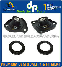 PORSCHE 911 997 C4 4S FRONT Suspension Strut Shock Mount Mounts + Bearings SET 4