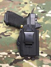 Black Kydex IWB Holster for Glock 19/23 RMR CUT Threaded Barrel Inforce APLc