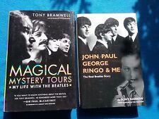 TWO BOOKS ON THE BEATLES BY TONY BRAMWELL & TONY BARROW - HARDBACK BOOKS