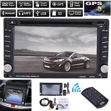 "New 6.2"" Double 2 Din Car DVD Player Radio Stereo GPS MP3 AUX USB Bluetooth AU"